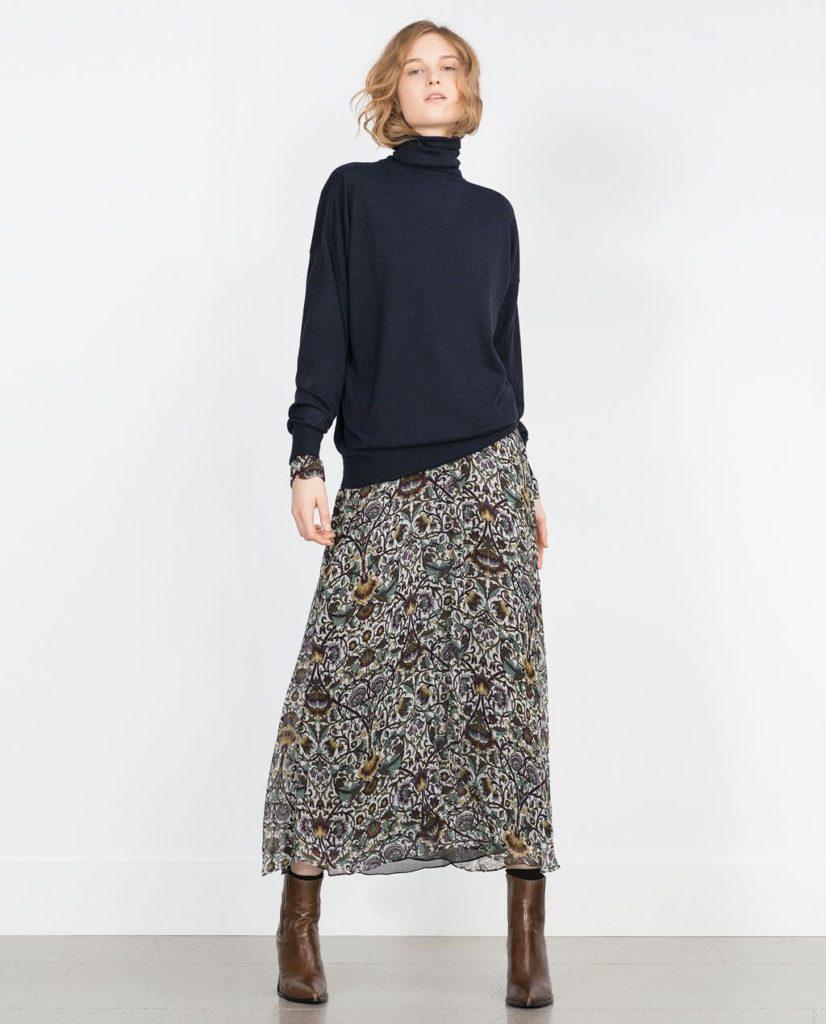 robe longue en hiver pull
