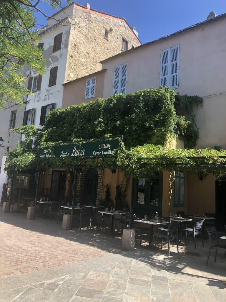 haute corse saint florent restaurant place