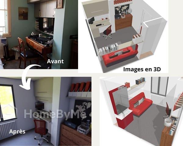 décoration en 3D
