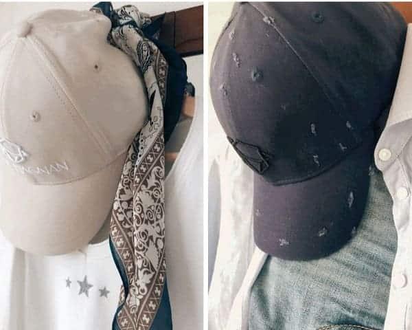 Deux casquettes de chez Jack Magnan