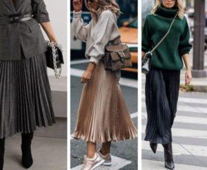 porter jupe plissée